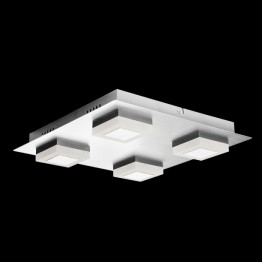 Bathroom lights light living led cubes square bathroom ceiling fitting mozeypictures Gallery